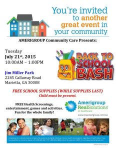 FREE School Supplies Jim Miller Park