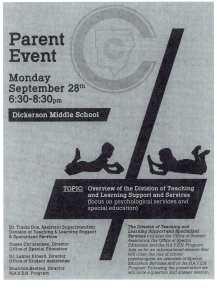 Parent Event September 28